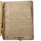 Christian Kabbalah Manuscript French Jewish Subject