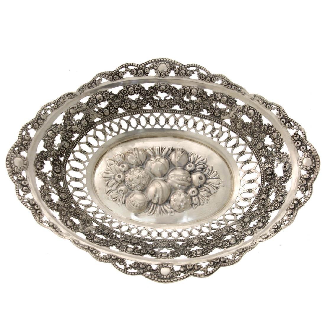 Silver Basket.