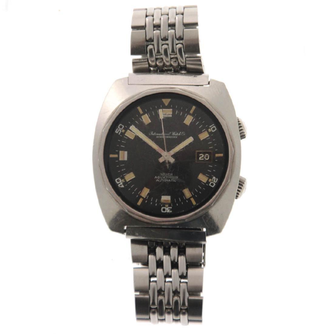 Rare - Schaffhausen IWC Aquatimer Wrist Watch, 1968.