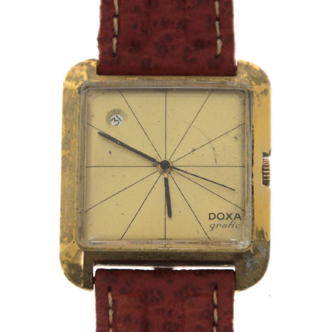 Doxa Grafic Wrist Watch.