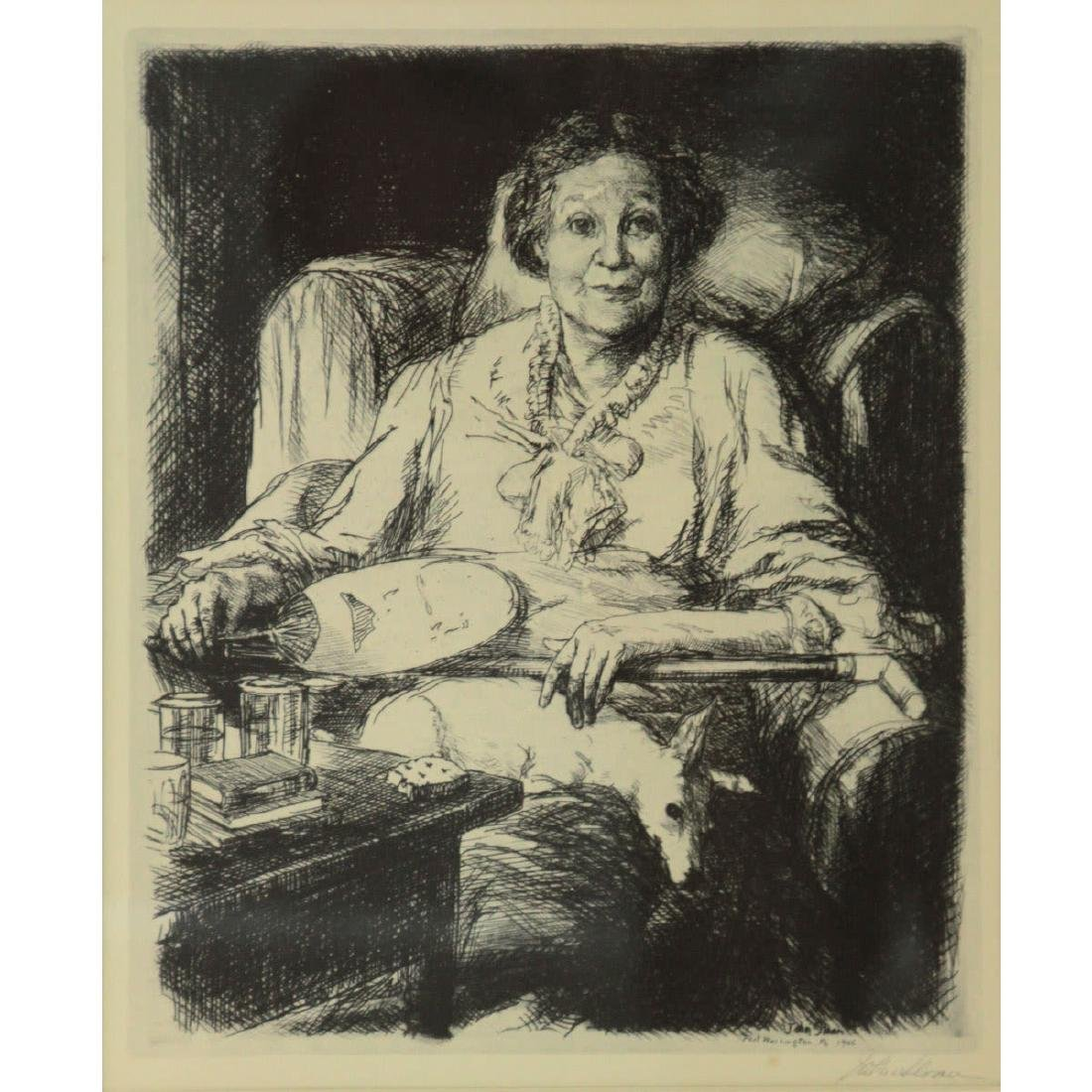 John Sloan (1871-1951) - Mother, Print