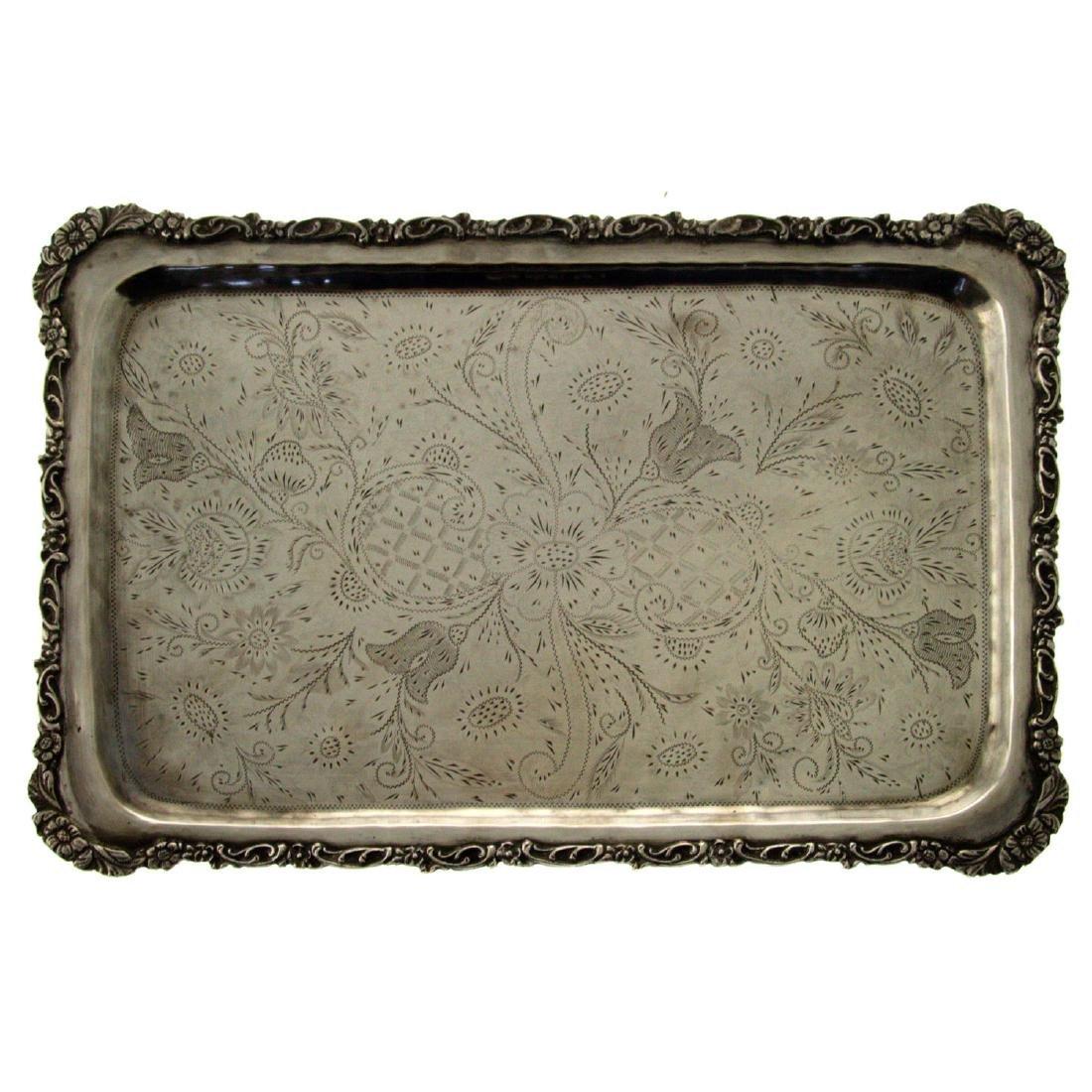 Silver Tray.