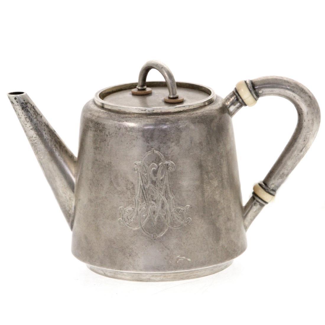 Russian Silver Teapot, Gavril Grachev, St. Petersburg,