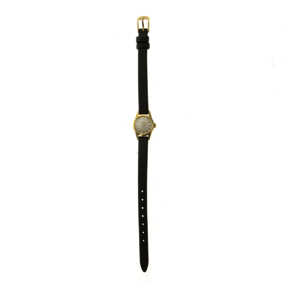 Omega 18k Yellow Gold Ladies Wrist Watch. - 2