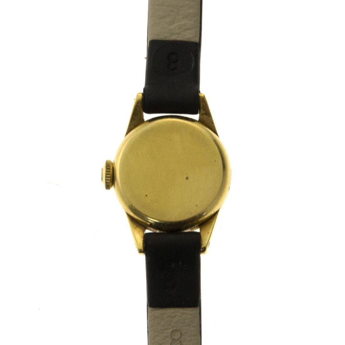 Omega 18k Yellow Gold Ladies Wrist Watch. - 3