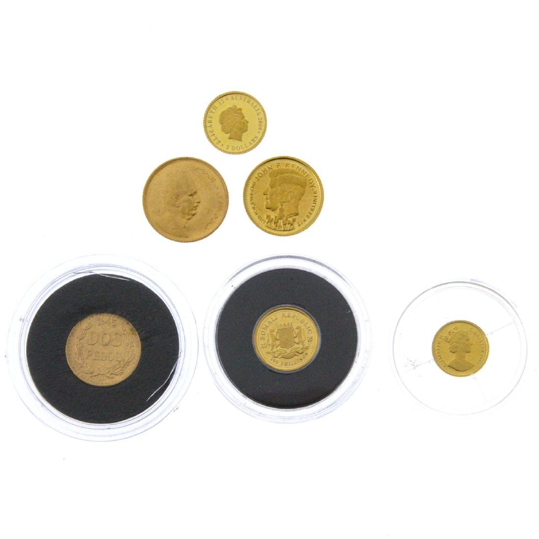Six Gold Coins.