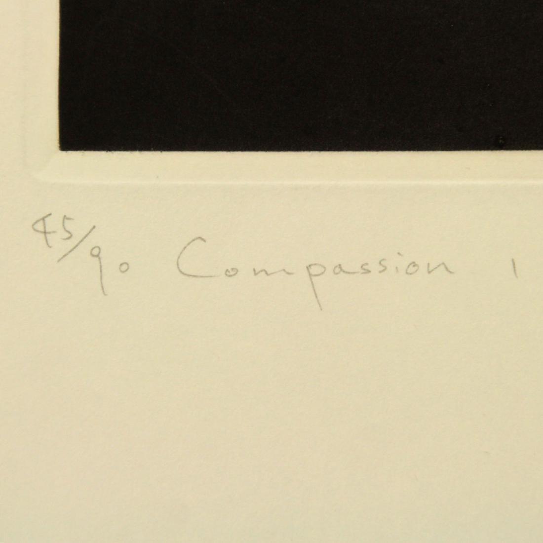 Mikio Watanabe (Japan, b.1954) - Compassion, Mezzotint. - 2
