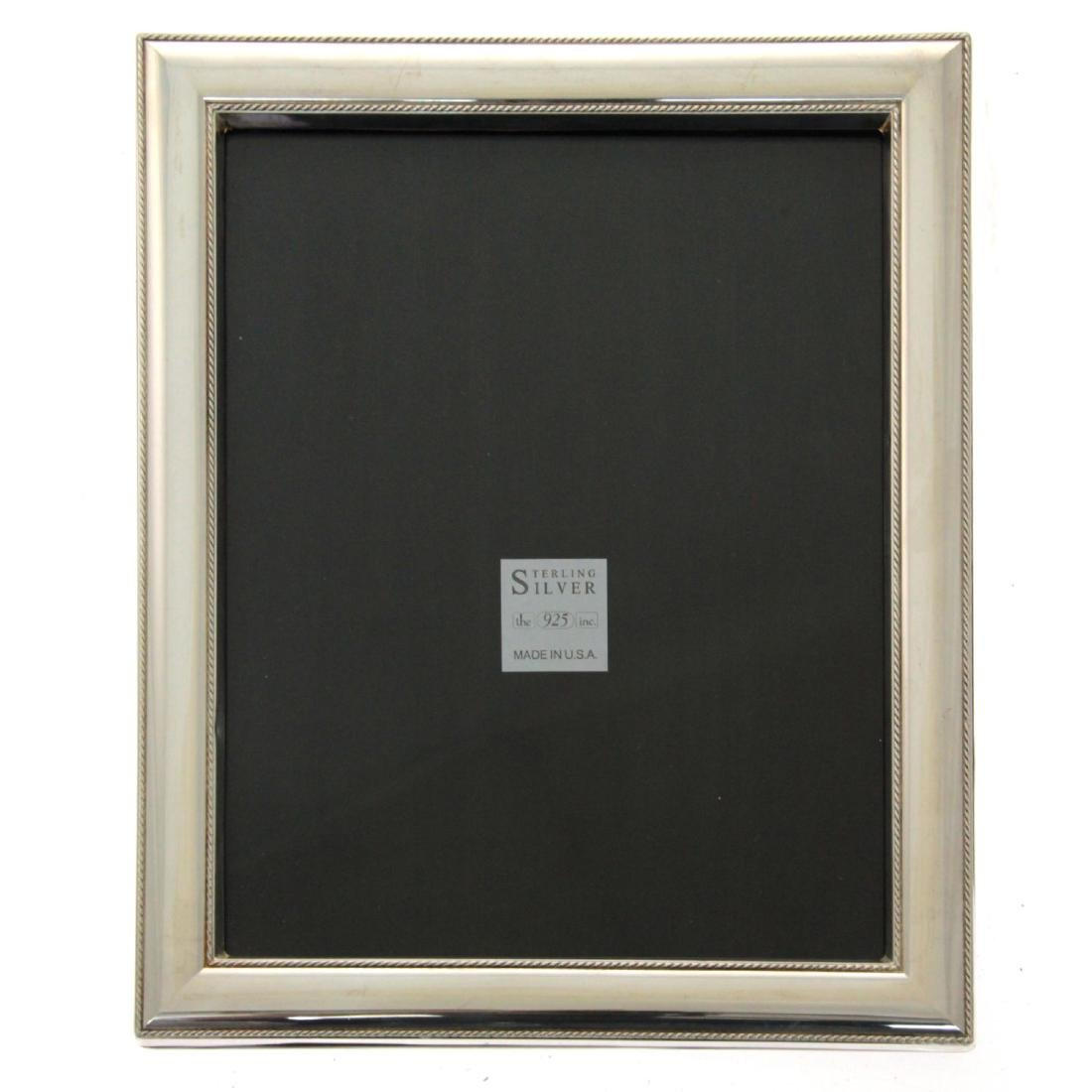American Sterling Silver Photo Frame. - 2