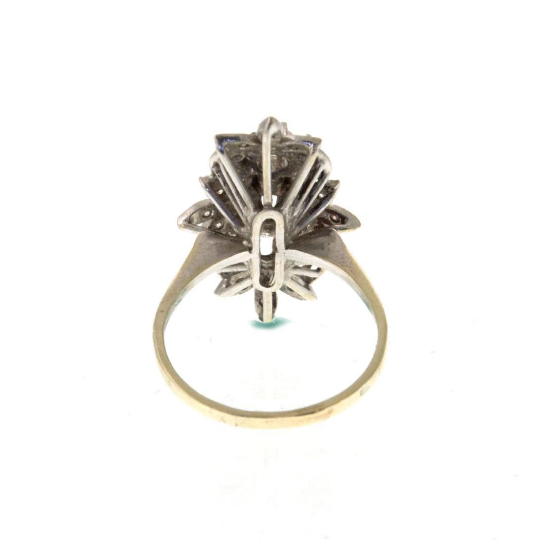 Impressive 14k White Gold 1.08ct Diamond Ring. - 5