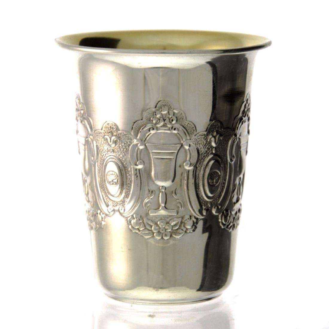 Sterling Silver Kiddush Cup, IGCMC.