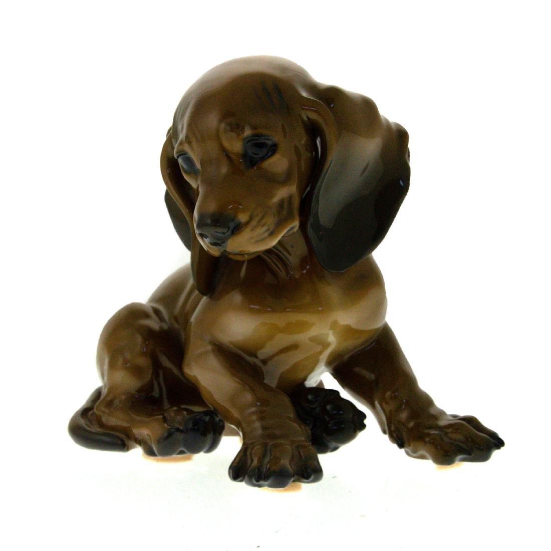 Rosenthal Porcelain Dog Figure.