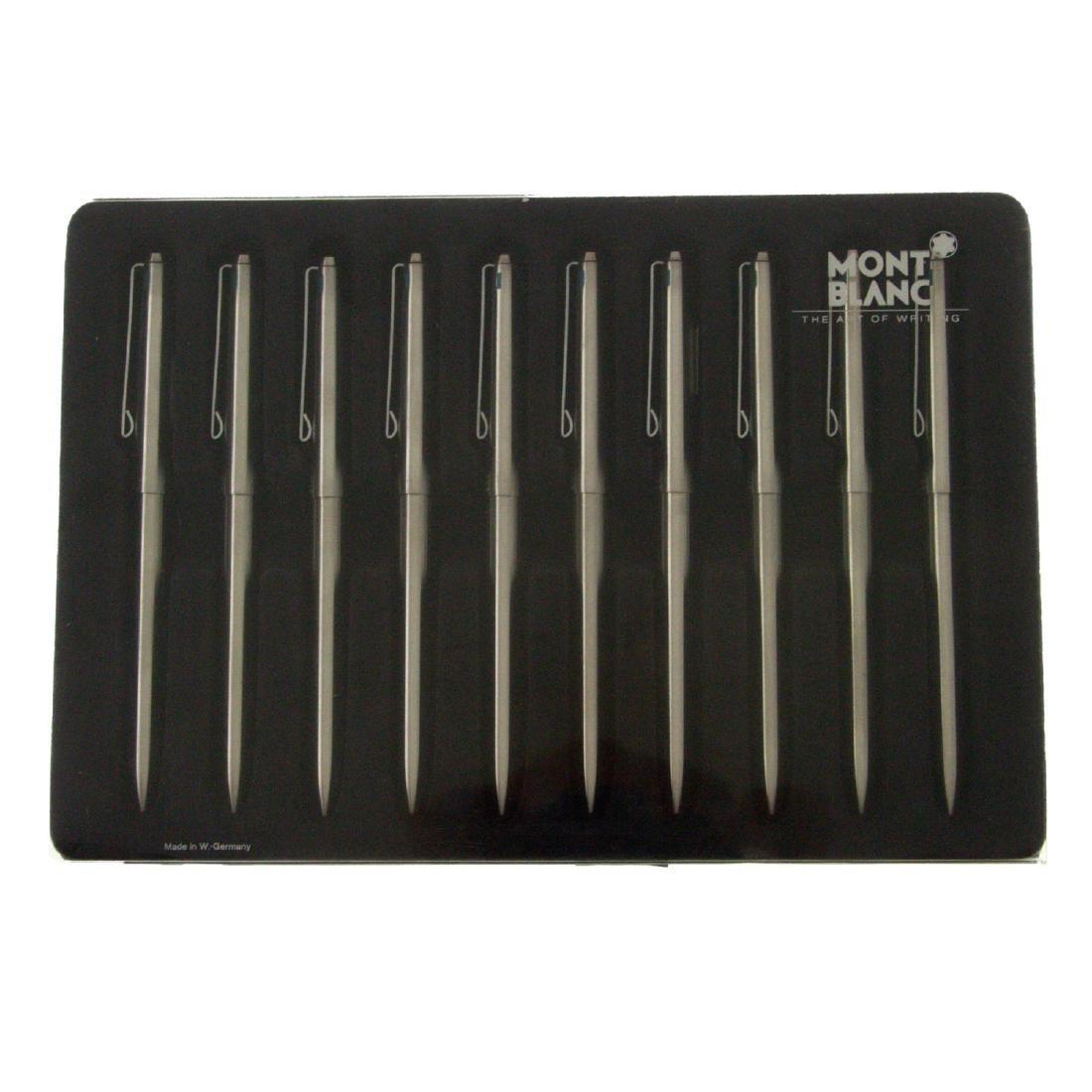 Set of 10 Montblanc Four Color Gyro Ballpoint Pens. - 2