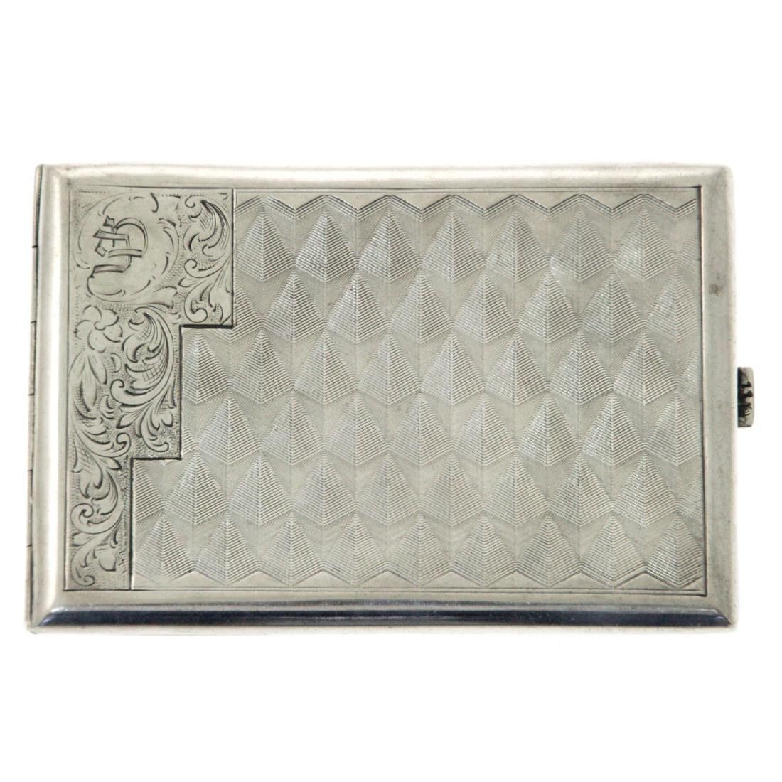 Silver Cigarette Case.
