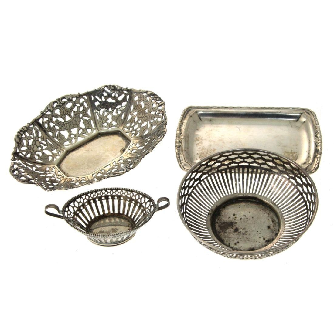 Lot of Silver Dishes.