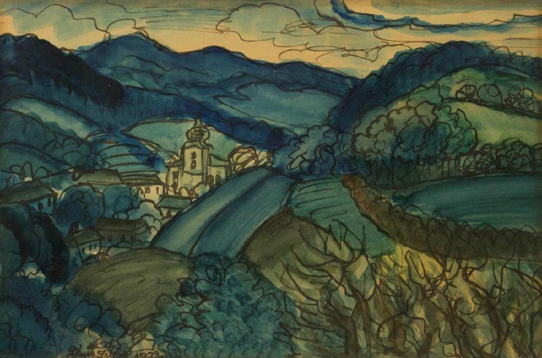 Franz Von Zulow (Vienna, Austria, 1883-1963) -