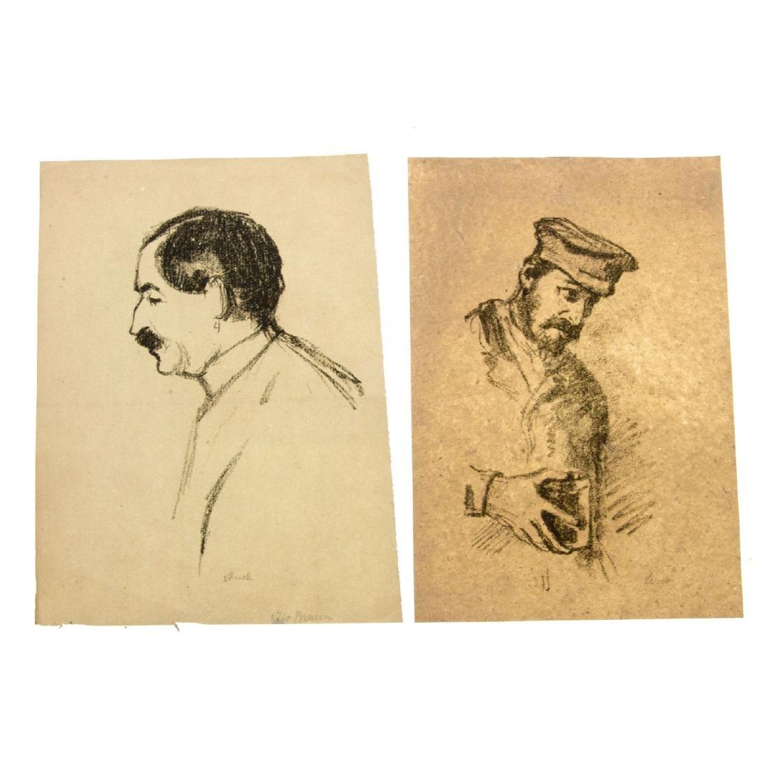 Hermann Struck (1876-1944) - Ten Figures Lithographs. - 3