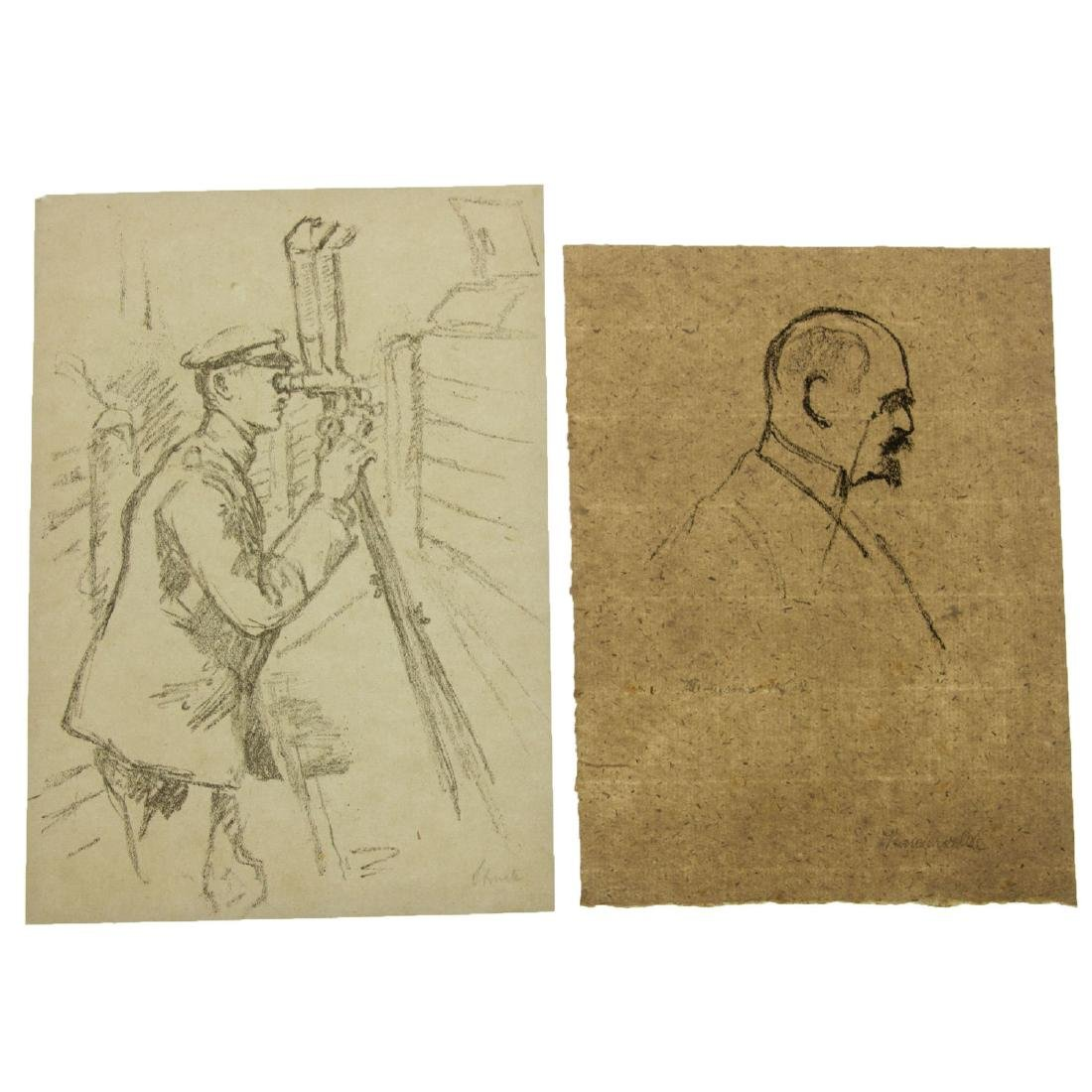 Hermann Struck (1876-1944) - Ten Figures Lithographs. - 5