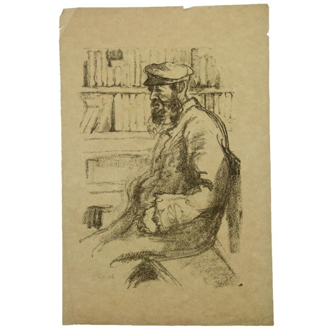 Hermann Struck (1876-1944) - Ten Figures Lithographs. - 6