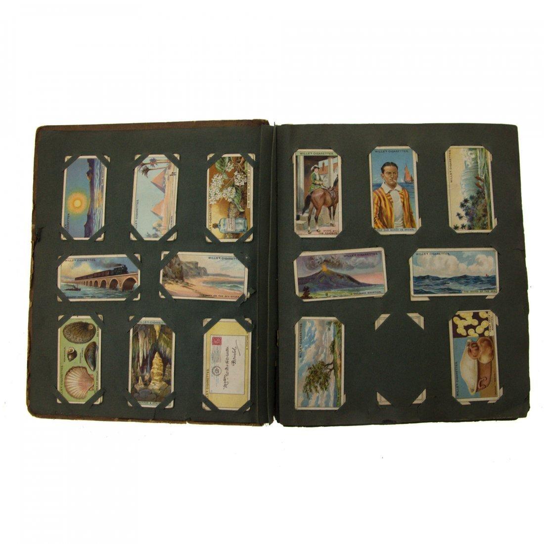 Cigarette Cards Album. - 2