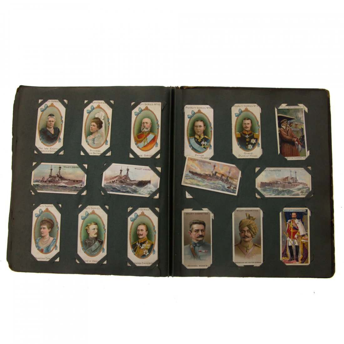 Cigarette Cards Album. - 4