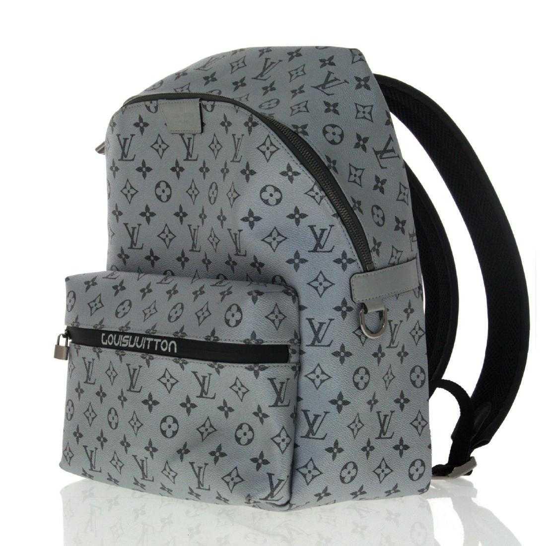 e5619536aeae Louis Vuitton Apollo Monogram Silver Backpack.