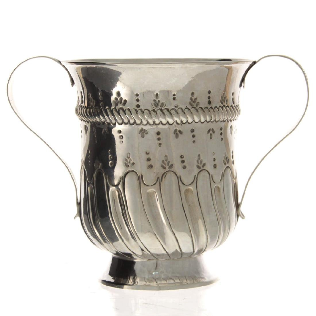 Early George III Sterling Silver Two Handled Trophy,