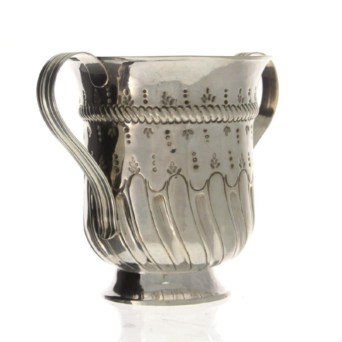 Early George III Sterling Silver Two Handled Trophy, - 2