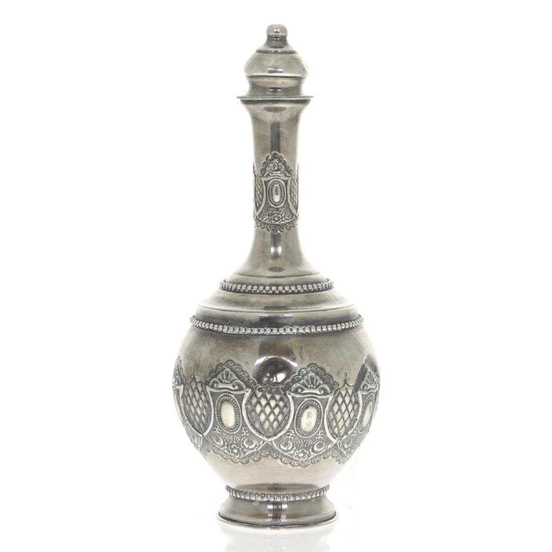 Sterling Silver Wine Decanter.