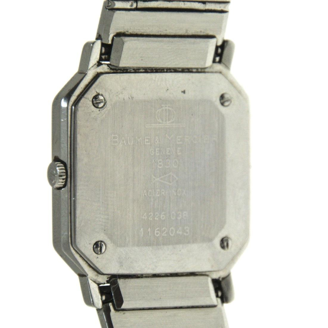Baume & Mercier Wrist Watch. - 3
