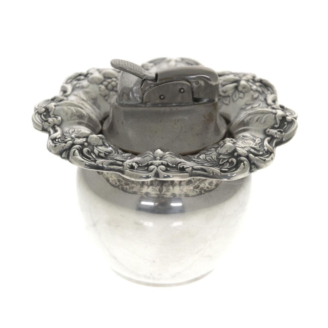 Reed & Barton Sterling Silver Table Lighter.
