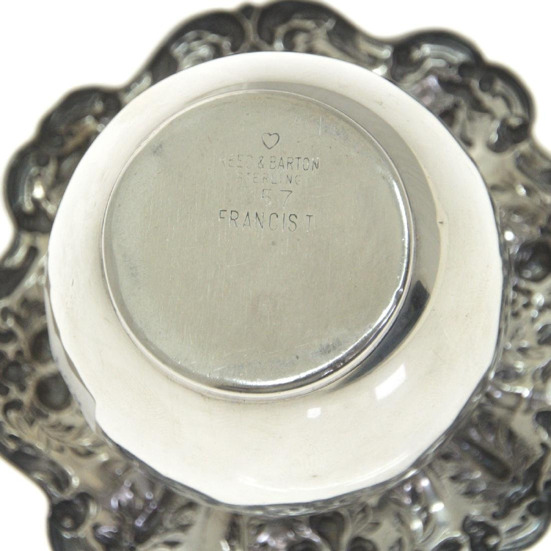 Reed & Barton Sterling Silver Table Lighter. - 3