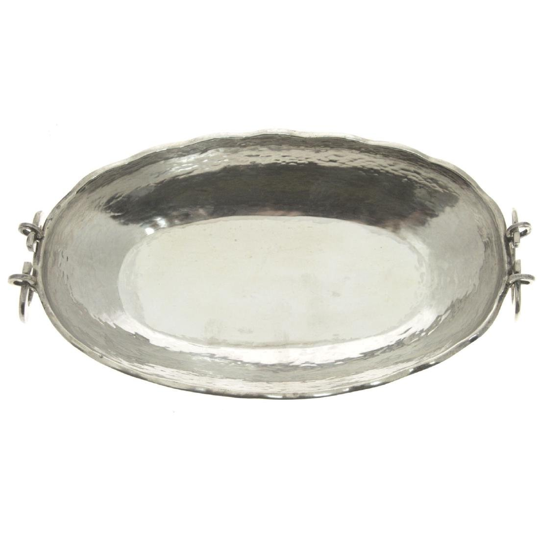 Sterling Silver Two Handled Bowl.