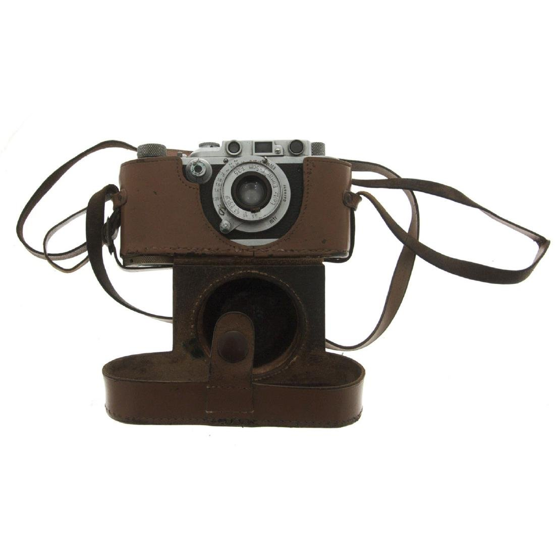 Leica II Ernst Leitz Wetzlar Camera with Elmar Lens. - 3