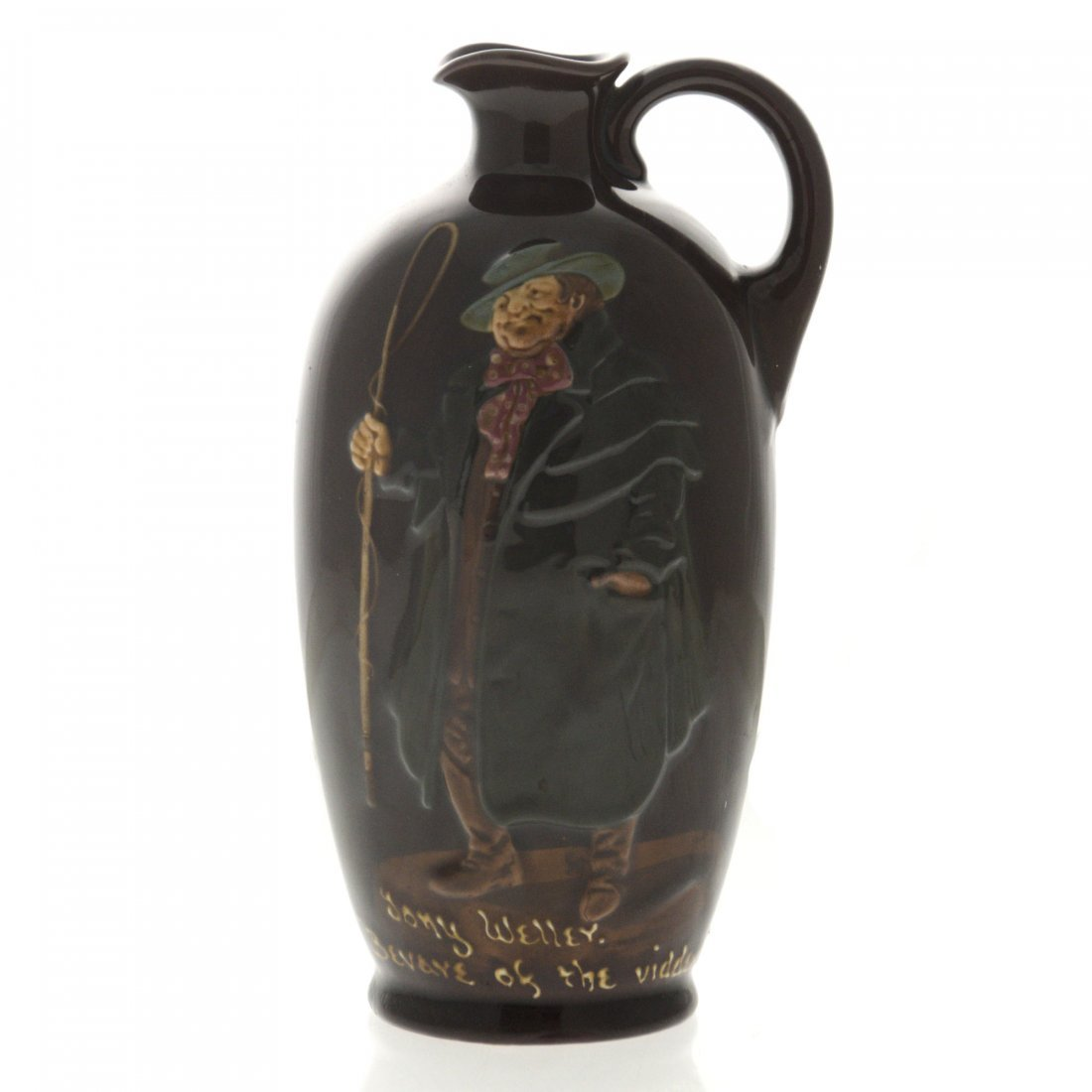 Royal Doulton Dewar's Whisky Tony Weller Ceramic Jug.