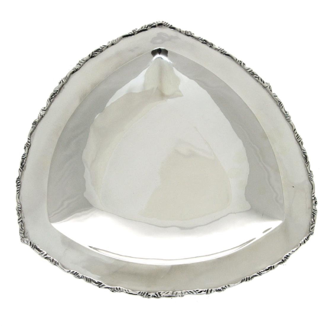 Sterling Silver Serving Tray Bowl.