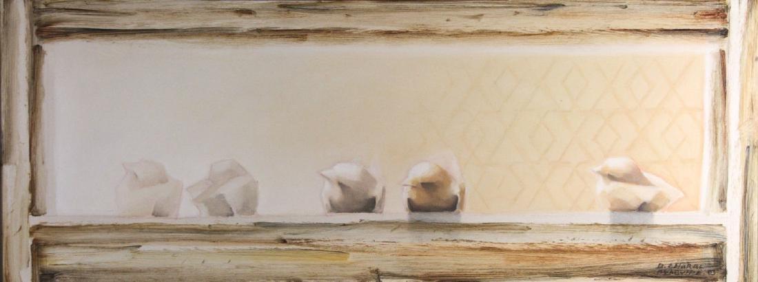 Daniel Amaral Oyarvide (Uruguay, b.1951) - Los