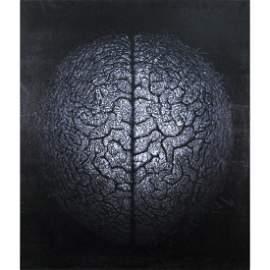 Alexei Sundukov (Russian, b.1952) - Brain, Oil on