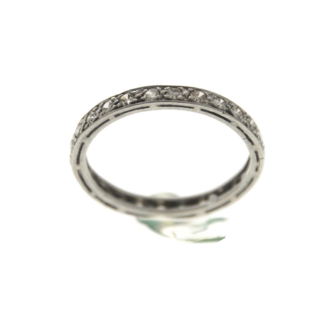 Platinum Diamond Eternity Ring.