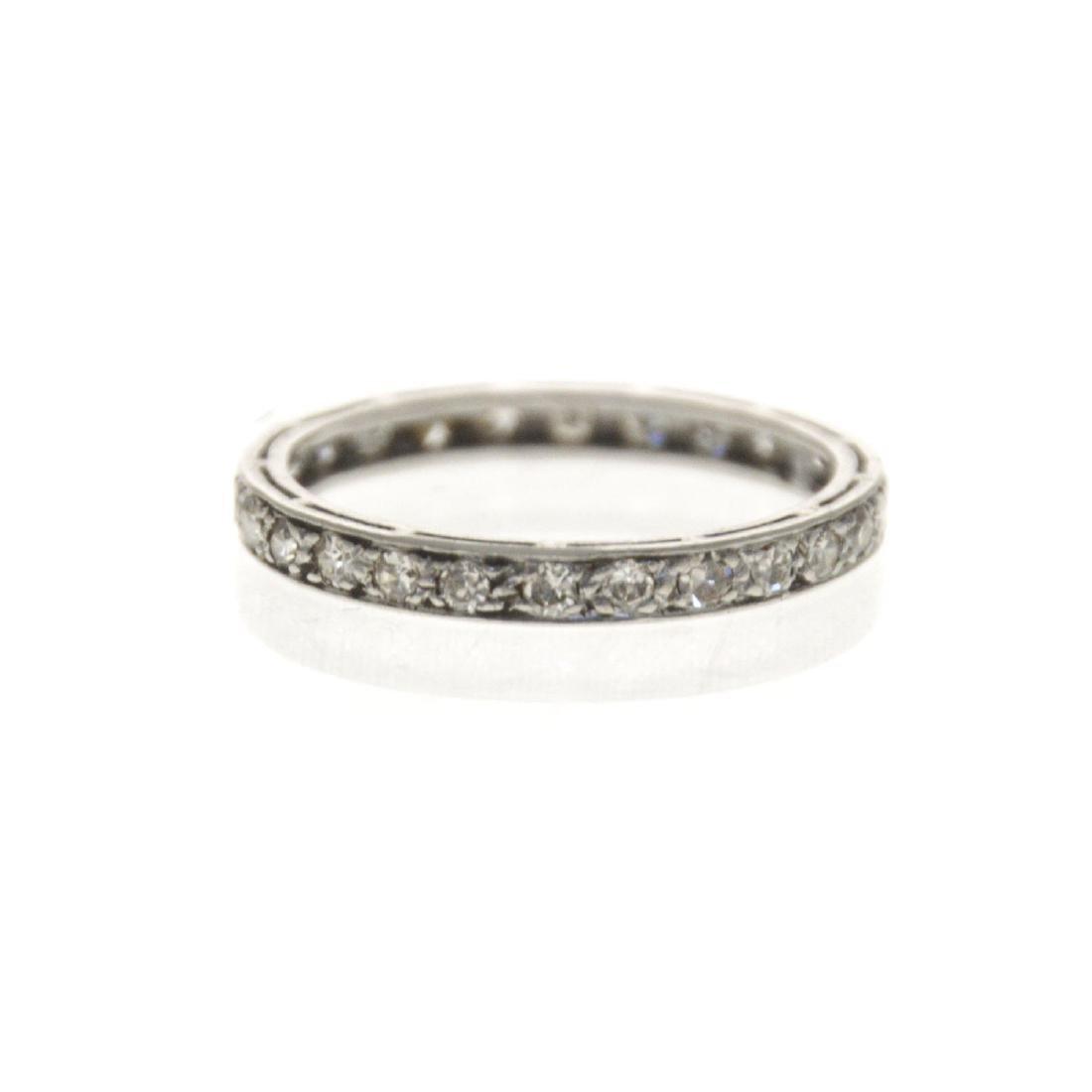 Platinum Diamond Eternity Ring. - 3