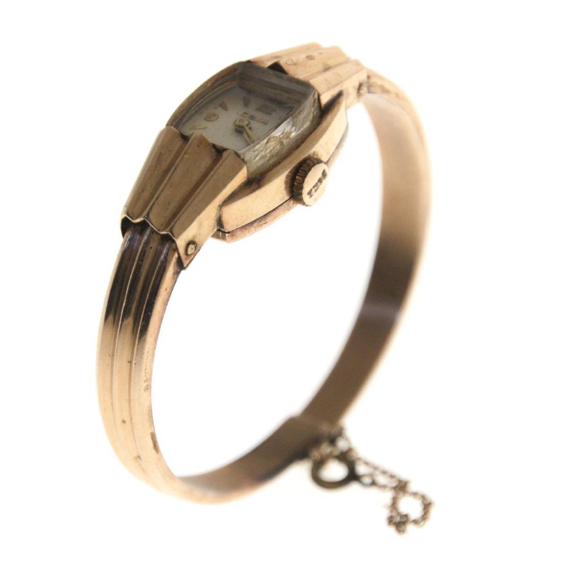 Doxa 14k Gold Lady's Wrist Watch.