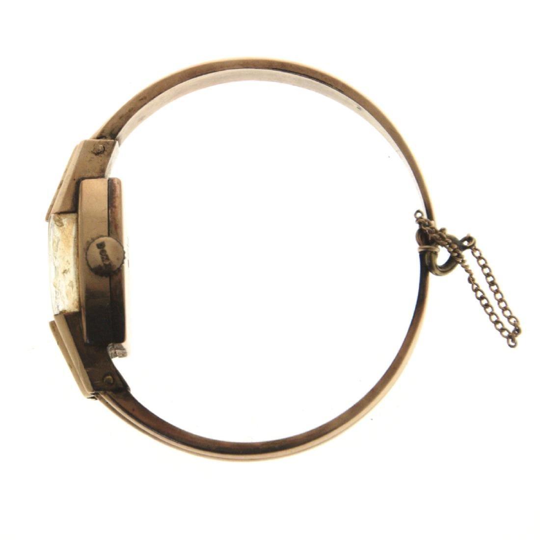 Doxa 14k Gold Lady's Wrist Watch. - 3