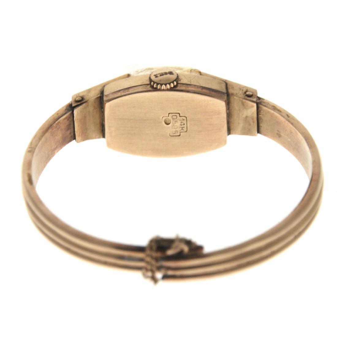 Doxa 14k Gold Lady's Wrist Watch. - 4