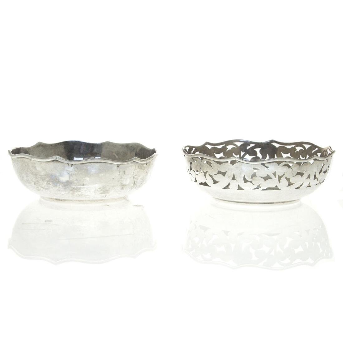 Two Silver Bowls.