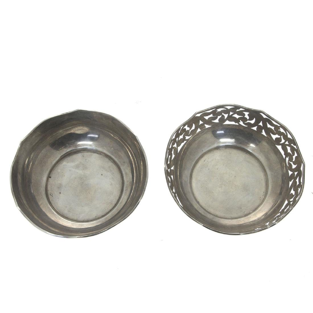 Two Silver Bowls. - 2