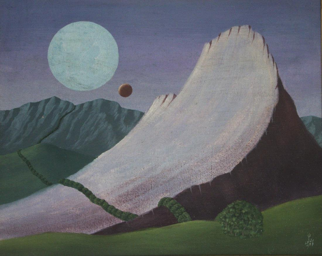Walter Lewy (Germany / Brazil, 1905-1995) - Oil on