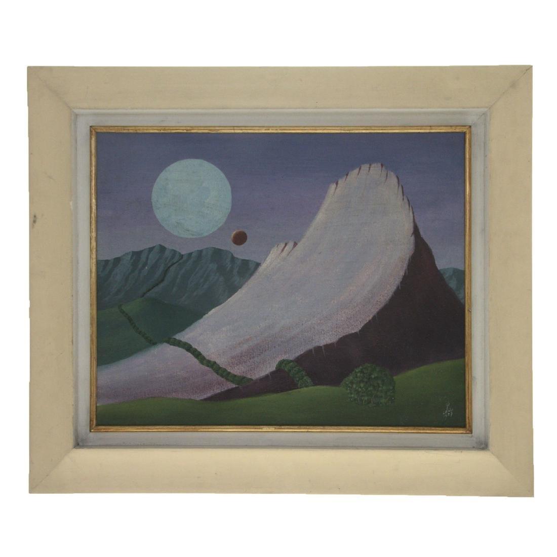 Walter Lewy (Germany / Brazil, 1905-1995) - Oil on - 2