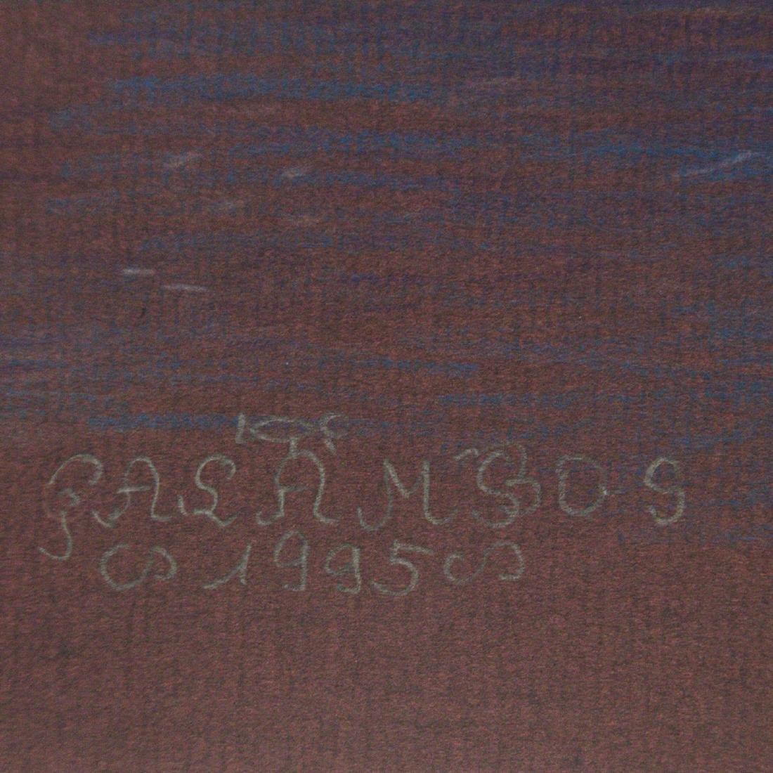 Tamas Galambos (Hungarian, b.1939) - Pastel on Paper, - 2