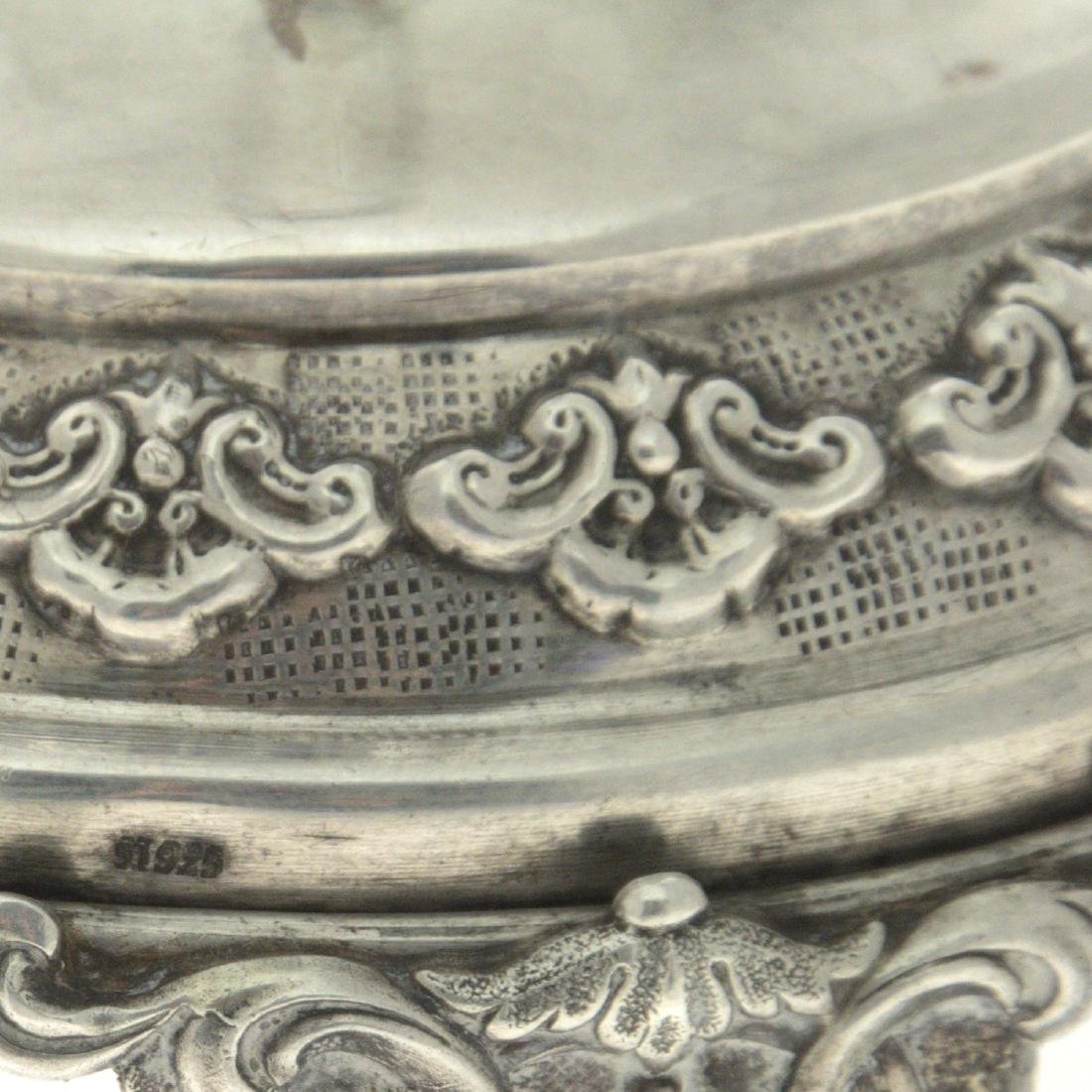 Pair of Sterling Silver Candlesticks. - 2