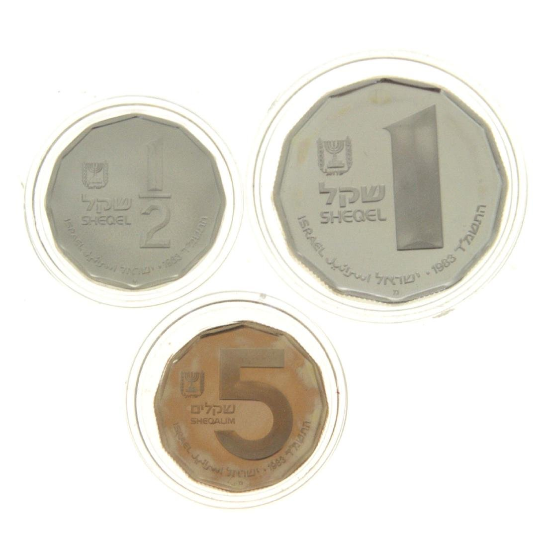 Herodion Fortress Gold and Silver Coin Set.