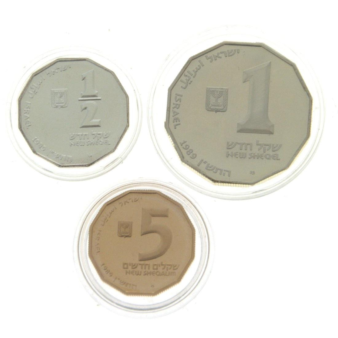 Jaffa Gold and Silver Coin Set.